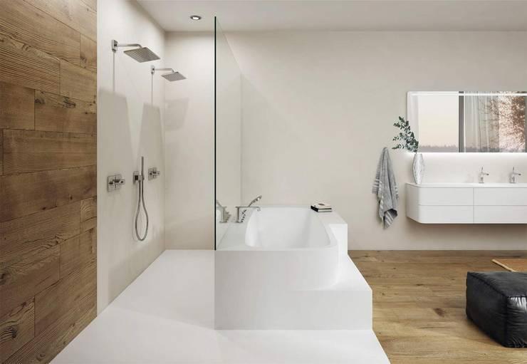 10 fantastici bagni moderni con doccia for Casa moderna bagni