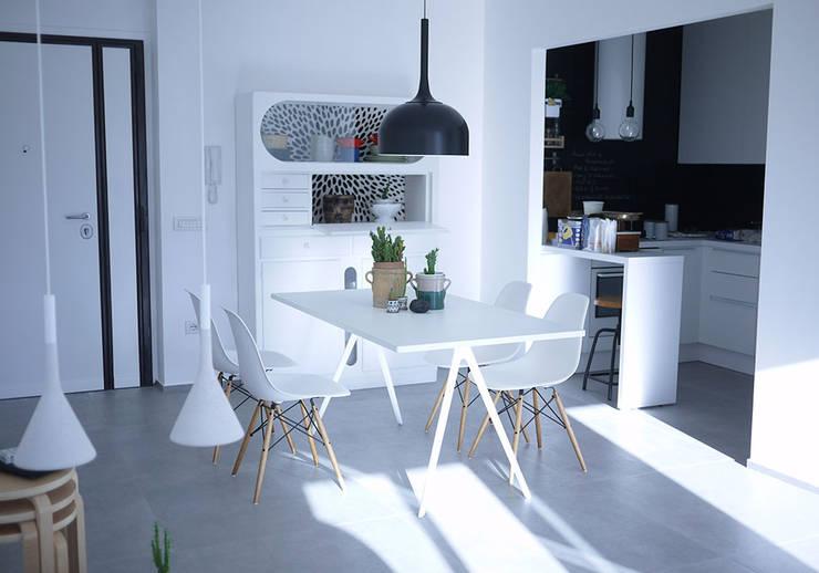 Comedores de estilo  por Giulia Brutto Architetto