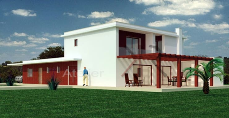 Projecto de habitação:   por KR | atelier de arquitectura