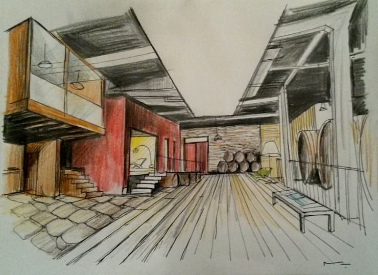 """<q class=""""-first"""">Eno Arquitetura</q> – <q>Wine Architecture</q>:   por Barracinza - Estudos e Projetos de Arquitetura"""