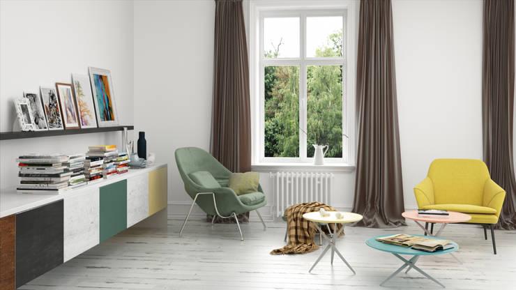 Bedroom in Stockholm - 2015 : Dormitorios de estilo  por InOutSide Architecture and Design,