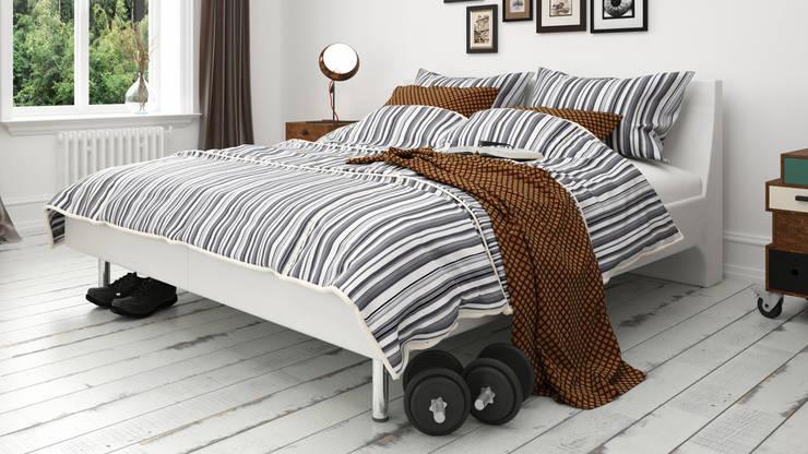 Bedroom in Stockholm – 2015 : Dormitorios de estilo  por InOutSide Architecture and Design,