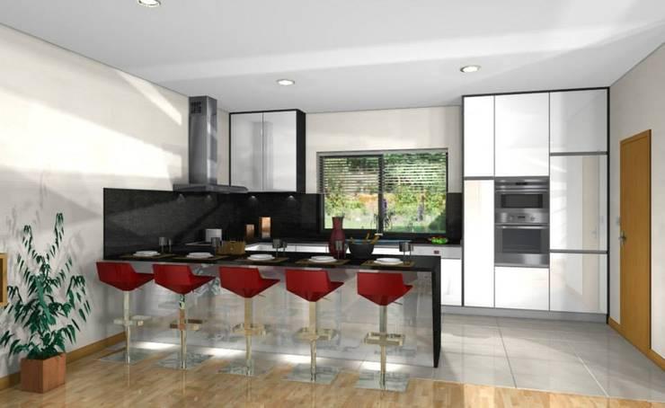 Fontoura - Valença - Cozinha em Produção:   por i9 Design