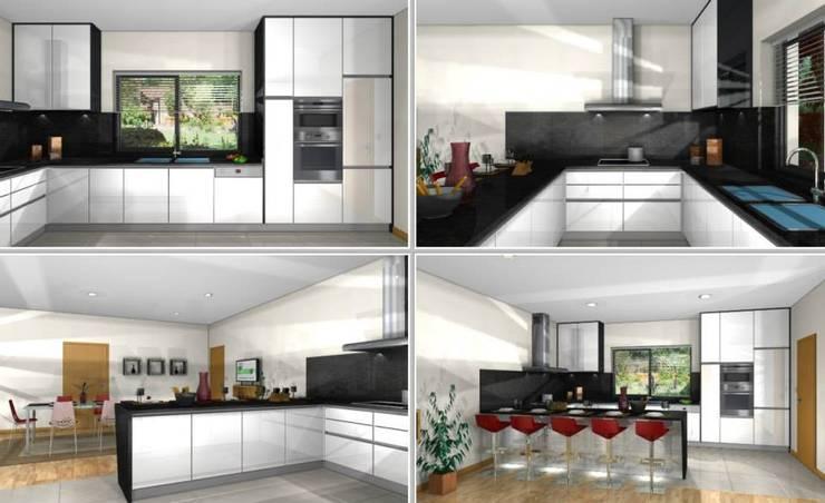 Fontoura – Valença – Cozinha em Produção:   por i9 Design