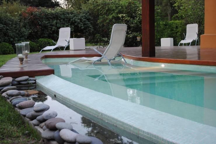 Piscinas: Piletas de estilo moderno por Carolina Fogel Arquitecta