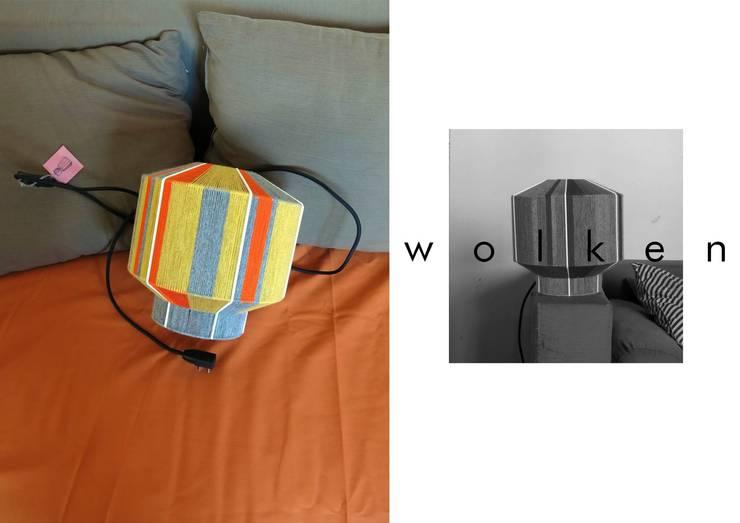 Lámparas tejidas a mano de WOLKEN Moderno