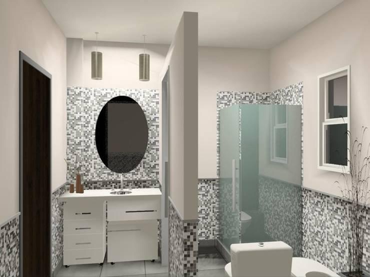 Baño LQ:  de estilo  por laura zilinski arquitecta,