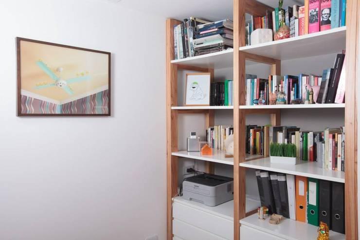 Obra Cabello Livings modernos: Ideas, imágenes y decoración de Arq. Jazmin Zang Moderno