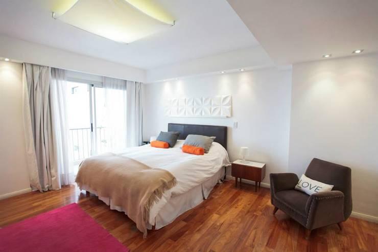 Obra Cabello: Dormitorios de estilo moderno por Arq. Jazmin Zang