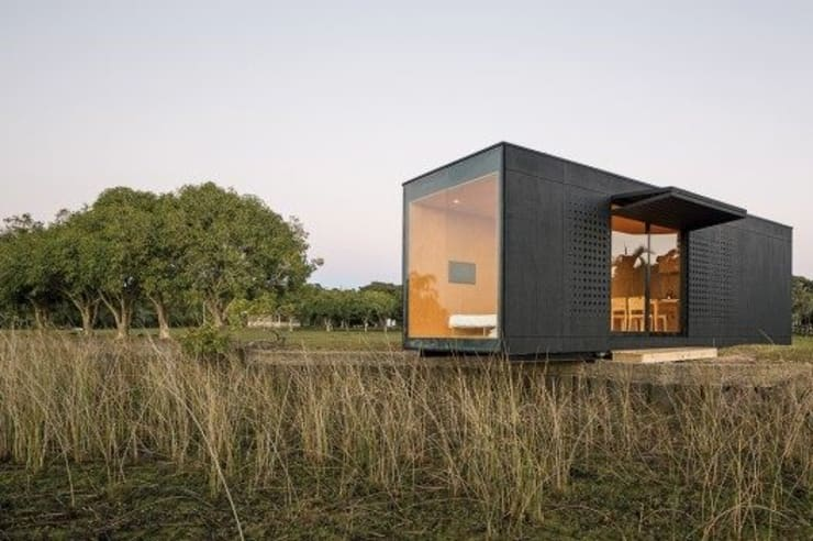 MINIMOD: Casas de estilo  por AR-SUS,Rural