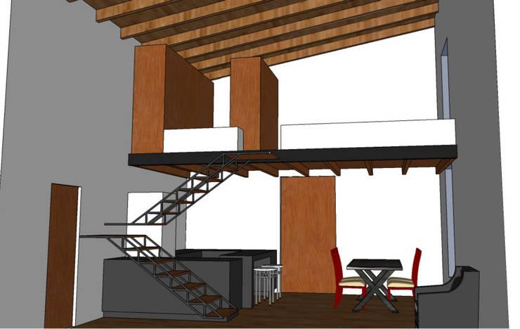 Casa Mamushka (2014):  de estilo  por DICA +