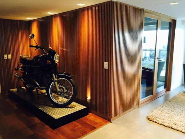 INTERIORISMO EN DEPARTAMENTO: Livings de estilo moderno por taller125