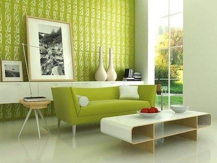 Interior Designs: modern Living room by amit.joshi