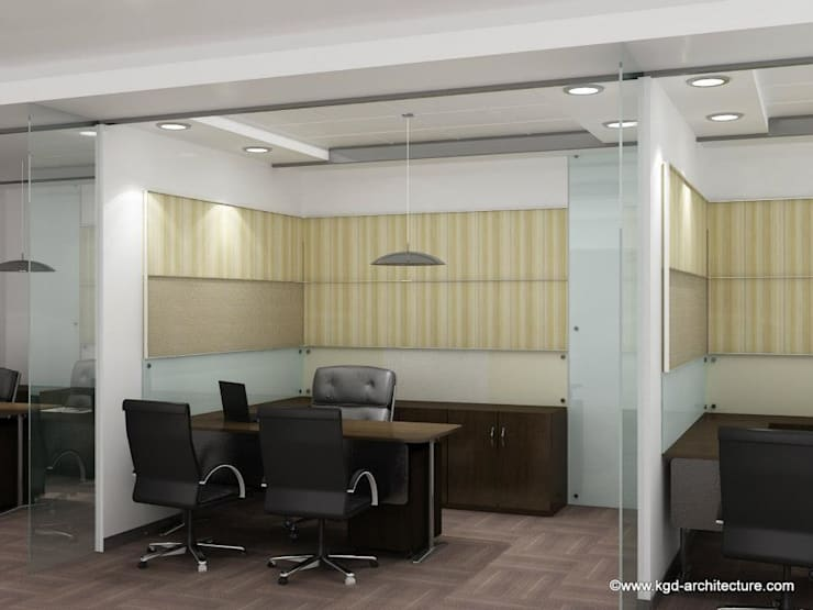 Commercial Interior Projects: modern Study/office by Kgd-architecture