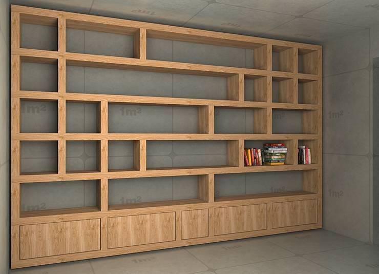 Meble do biura: styl , w kategorii Domowe biuro i gabinet zaprojektowany przez Cellaio,Nowoczesny