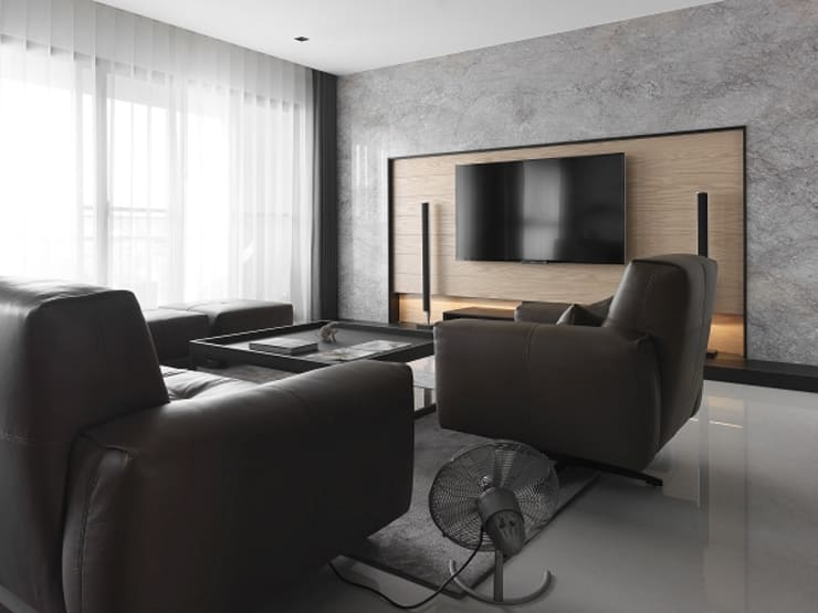 Living room by KD Panels