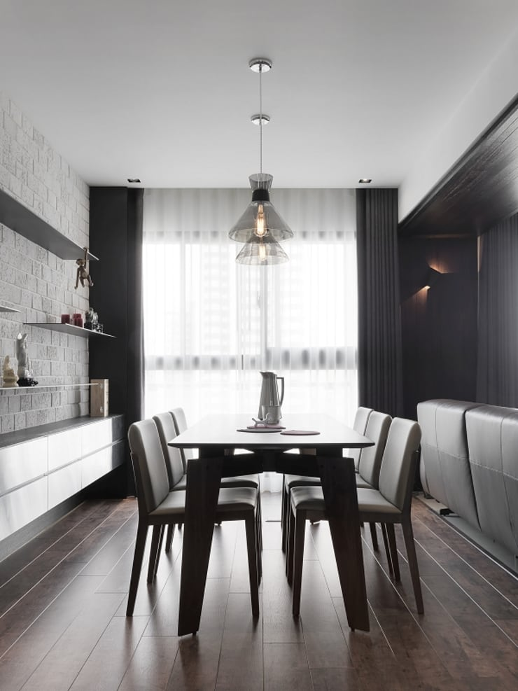 [HOME] Zinarea Interior Design: KD Panels의  다이닝 룸,