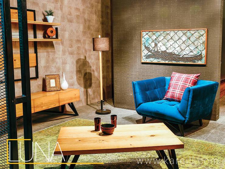 Kargılı Ev Mobilyaları – Luna  coffee table and wall unit.:  tarz Ev İçi