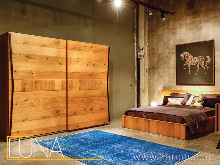 Kargılı Ev Mobilyaları – Luna Bedromm Furniture:  tarz Ev İçi