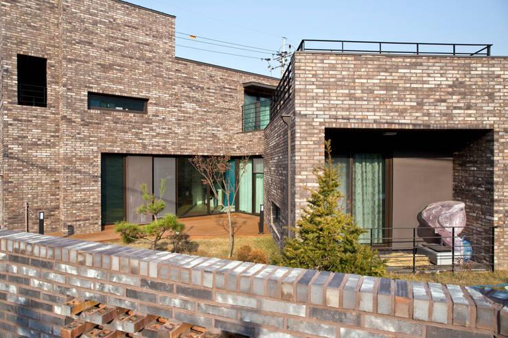 11 casas de ladrillo muy interesantes for Casas rusticas de ladrillo