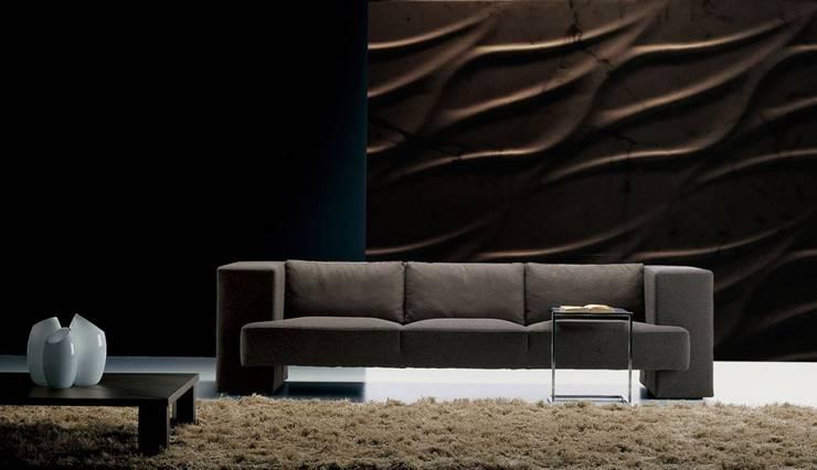 Panele Dekoracyjne 3D - Loft Design System - model Tide: styl , w kategorii Ściany i podłogi zaprojektowany przez Loft Design System
