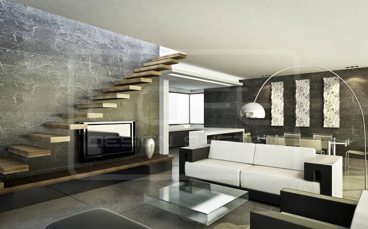 Panele Dekoracyjne 3D - Loft Design System - model Canyon: styl , w kategorii  zaprojektowany przez Loft Design System,Nowoczesny