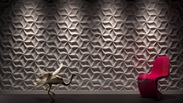 Panele Dekoracyjne 3D - Loft Design System - model Meringue: styl , w kategorii  zaprojektowany przez Loft Design System,Nowoczesny