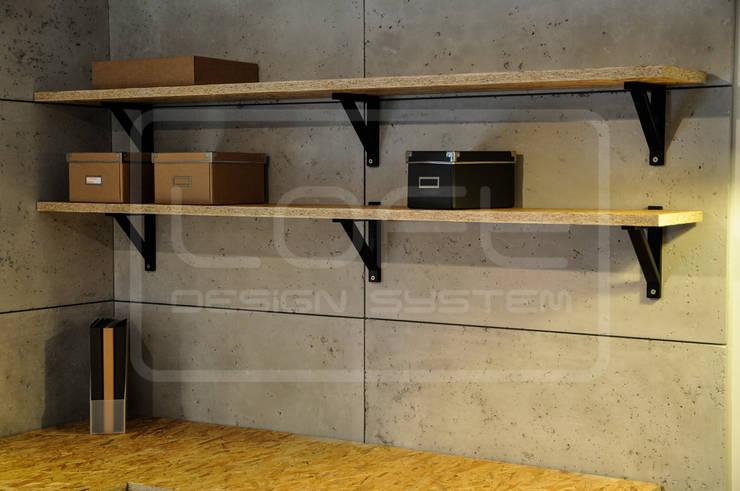 Panele Dekoracyjne 3D - Loft Design System - Loft Concrete: styl , w kategorii Ściany i podłogi zaprojektowany przez Loft Design System