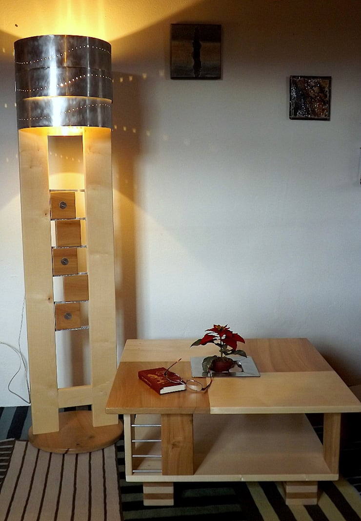 modern  by Le Meuble Autrement, Modern Wood Wood effect