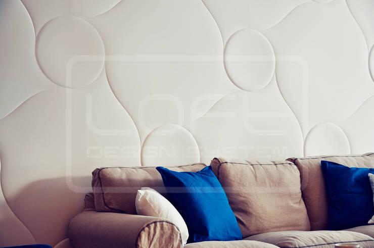 Panele Dekoracyjne 3D - Loft Design System - model Qualited: styl , w kategorii Ściany i podłogi zaprojektowany przez Loft Design System,