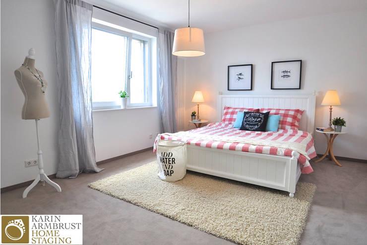 غرفة نوم تنفيذ Karin Armbrust - Home Staging