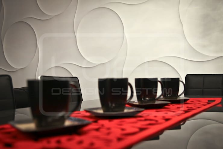 Panele Dekoracyjne 3D - Loft Design System - model Nexus: styl , w kategorii  zaprojektowany przez Loft Design System,Nowoczesny