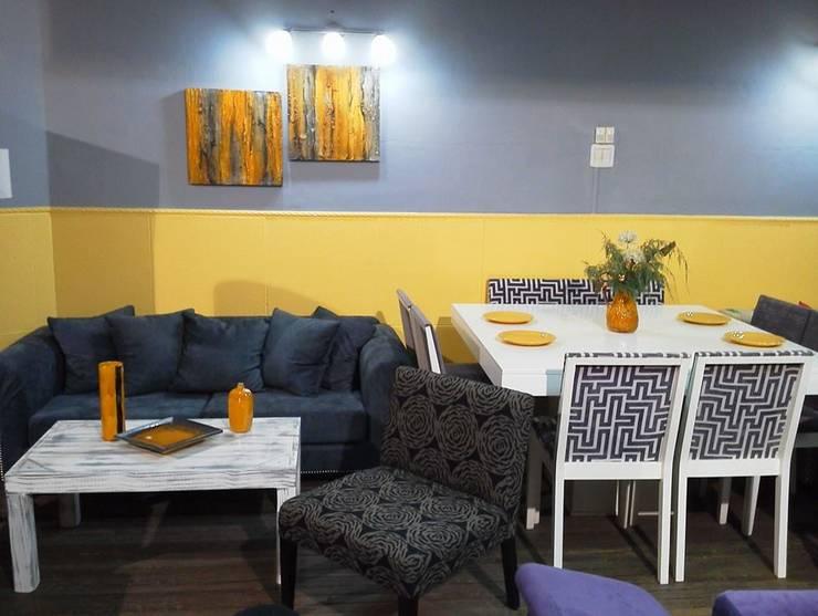 Muebles ambientados: Livings de estilo  por Casa & Stylo, Concordia