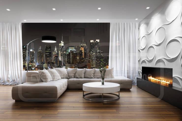 Panele Dekoracyjne 3D - Loft Design System - model Nexus: styl , w kategorii Ściany i podłogi zaprojektowany przez Loft Design System