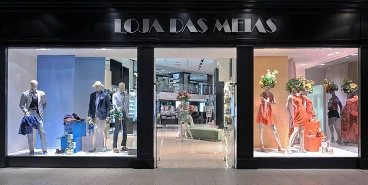 LOJAS DAS MEIAS AMOREIRAS: Lojas e espaços comerciais  por Artica by CSS