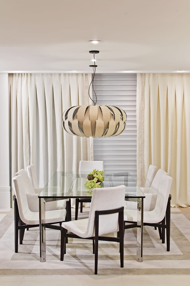Mostra Artefacto 2012: Salas de jantar  por Yara Mendes Arquitetura e Decoração