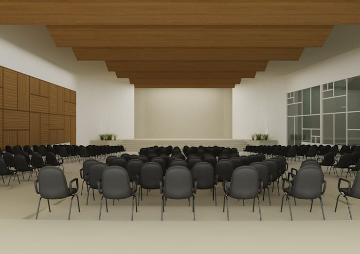 Igreja Presbiteriana Tamboré:   por shileon Arquitetura