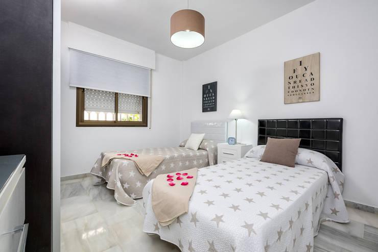غرفة نوم تنفيذ Espacios y Luz Fotografía