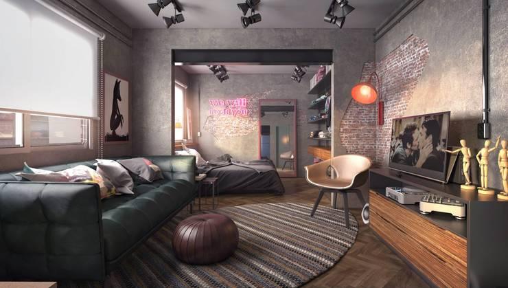 Living room by .Villa arquitetura e algo mais, Modern