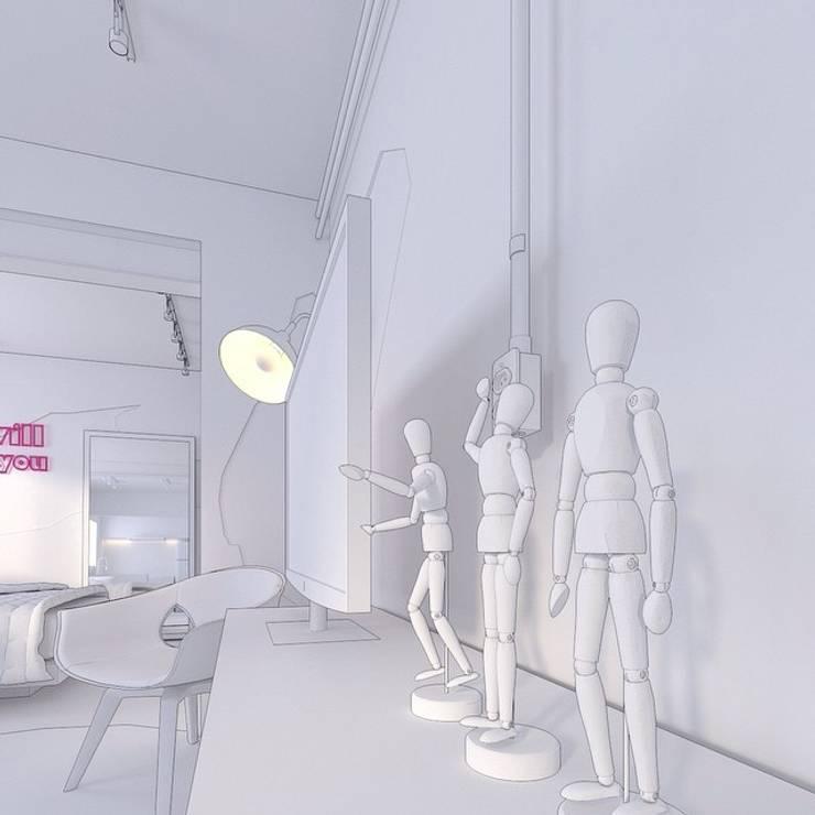 Corridor & hallway by .Villa arquitetura e algo mais, Modern