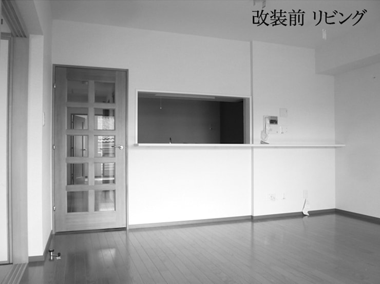 ビフォー・リビング: 戸田晃建築設計事務所が手掛けたです。