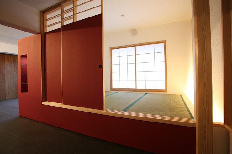 アフタ-・和室: 戸田晃建築設計事務所が手掛けたです。