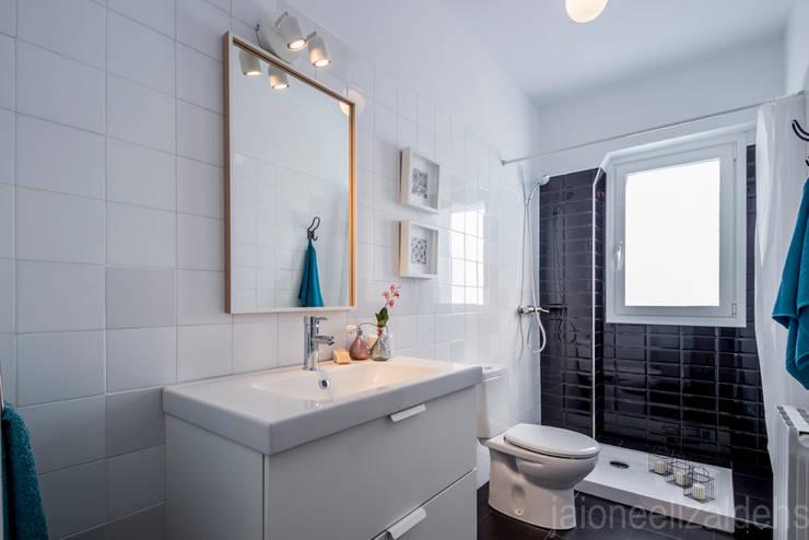 jaione elizalde estilismo inmobiliario - home staging의  욕실