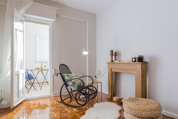Quarto  por jaione elizalde estilismo inmobiliario - home staging
