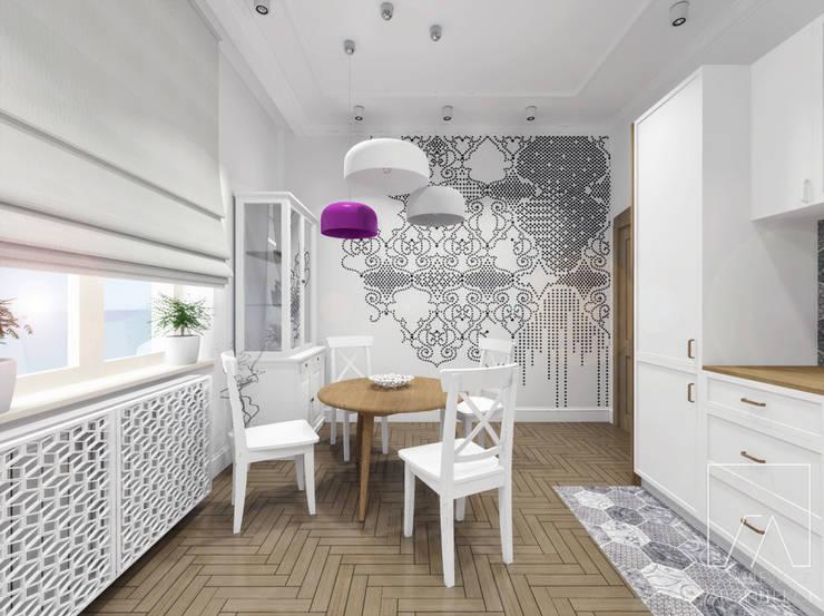 Mieszkanie Poznań: styl , w kategorii Kuchnia zaprojektowany przez SZTYBLEWICZ ARCHITEKCI