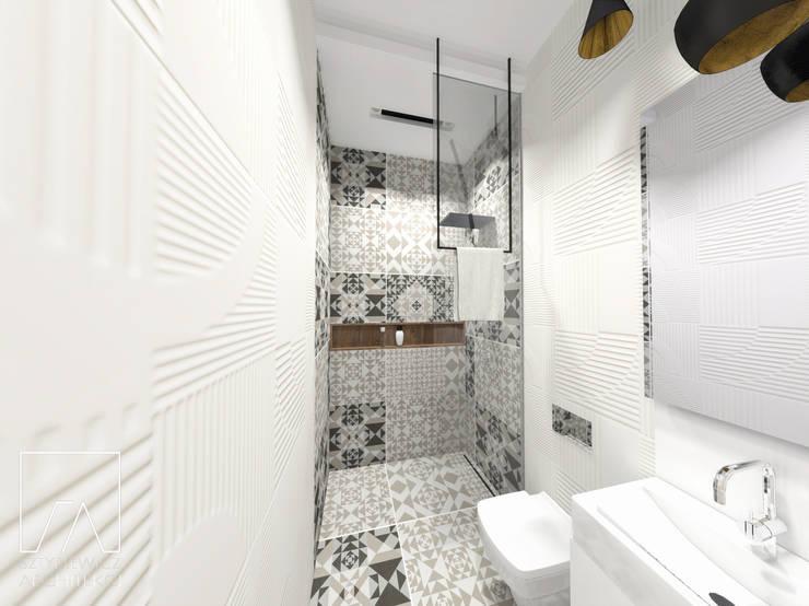 Mieszkanie Poznań: styl , w kategorii Łazienka zaprojektowany przez SZTYBLEWICZ ARCHITEKCI