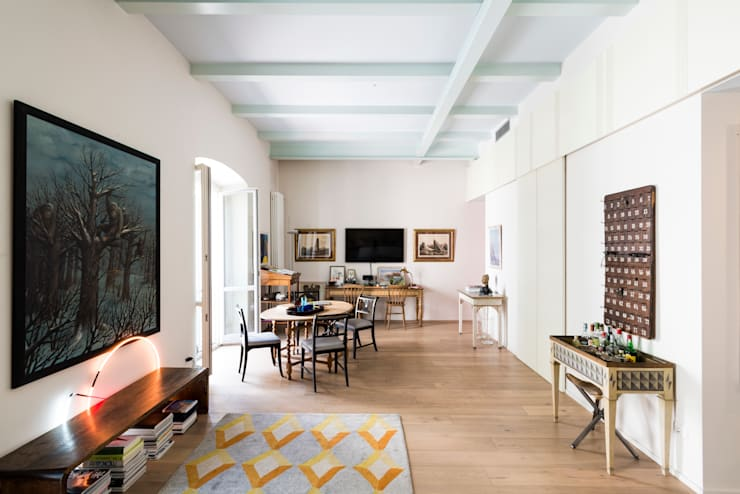 eclectic Dining room by cristianavannini | arc