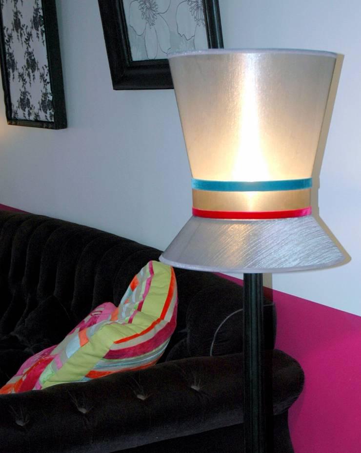 cr ation d 39 abat jour et lampes sur mesure par j lumine. Black Bedroom Furniture Sets. Home Design Ideas