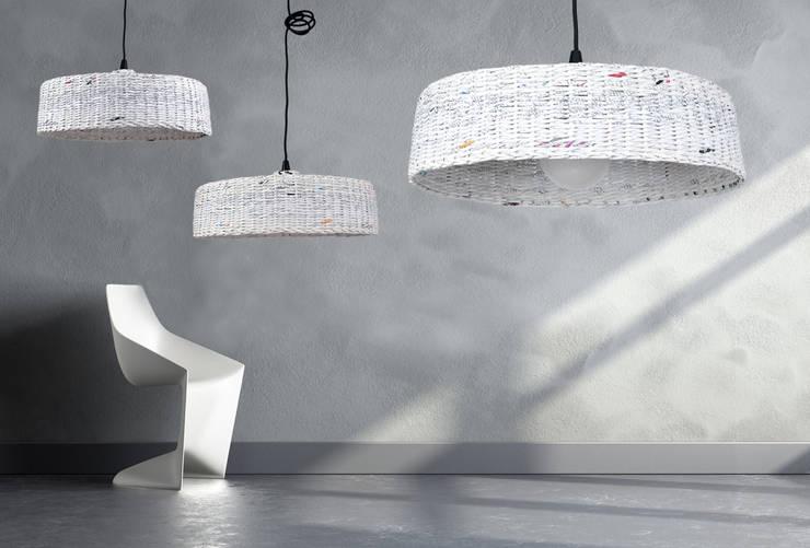 Lampa Hoc: styl , w kategorii  zaprojektowany przez Barbórka Design,Nowoczesny