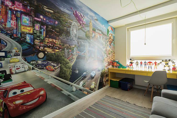 WNĘTRZA: styl , w kategorii Pokój dziecięcy zaprojektowany przez STUDIO ROGACKI,Nowoczesny